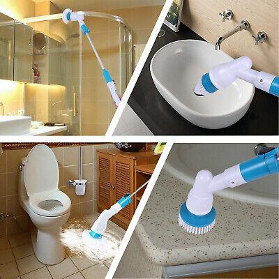 Turbo Scrub Ménage Brosse nettoyage rechargable Électrique Rotatif salle de bain 5