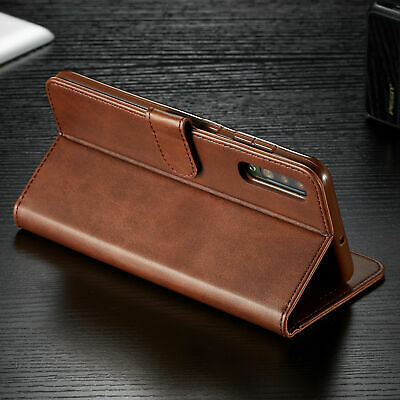 For Samsung Galaxy A70 A50 A40 30 A10 PU Leather Magnetic Wallet Flip Case Cover 6