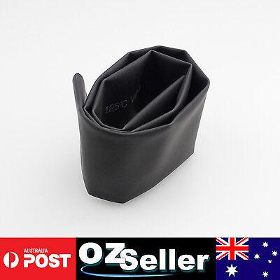 1 Meter Heat Shrink Tube Heatshrink Tubing Sleeving Wrap BLACK Dia=30mm AU STOCK