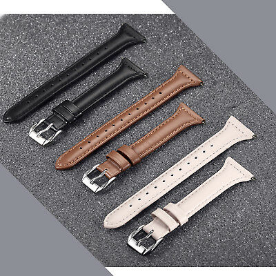 Fasion Slim Leather Watch Wrist Band Bracelet for Fitbit Versa Women man 6