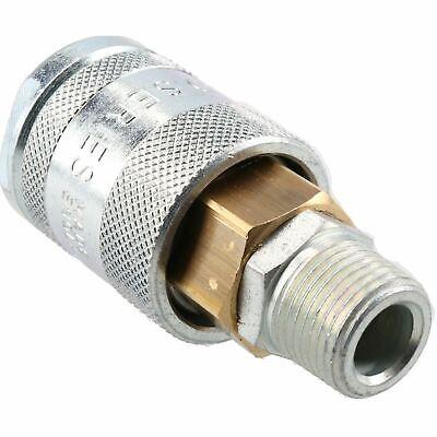"PCL 60 Series Female Coupler 3/8"" BSP Male Thread & Male Adaptor Air Fittings 7"