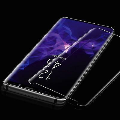 S8 Full Curved 5D Tempered Glass Screen Protector For Samsung Galaxy S8 - CLEAR 3
