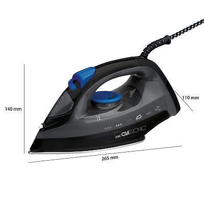 Plancha de vapor vertical para ropa suela acero inox antigoteo 7 funciones 1800W 10