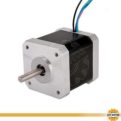 DE Free 3PCS Nema17 Schrittmotor 17HM5417 1.7A 48mm 0.9°  Φ5mm 60oz-in  Bipolar 7
