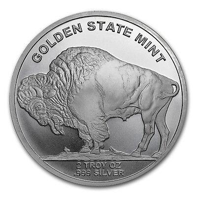 2 oz Silver Round - Buffalo - SKU #149356 2
