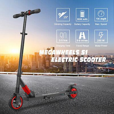 Megawheels E-Scooter Monopattino Elettrico Adulti Pieghevole Leggero 250W 14MPH 3