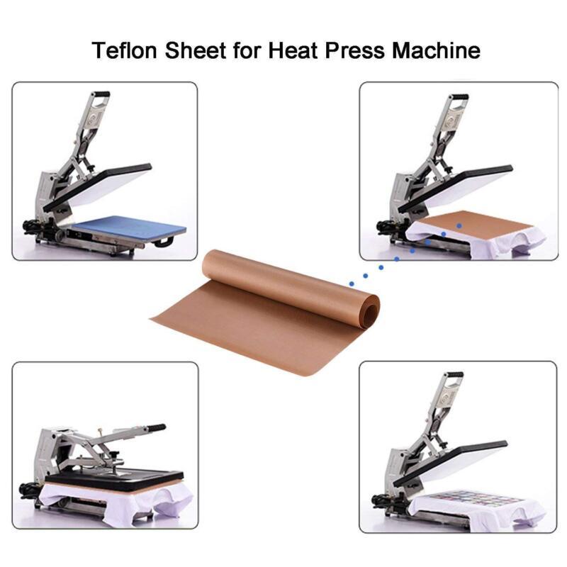 6pcs teflon sheet for heat press ptfe heat trasfer iron resistant baking cloth 7