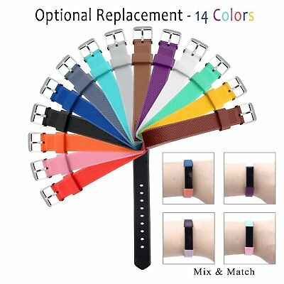 Small/ Large Size Replacement Wristband Band Strap For Fitbit Alta HR Wristband