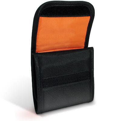 3 Pocket Bag Pouch Holder Storage Case for SLR DSLR Camera Lens Filters 43-77mm 3