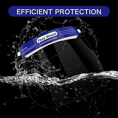 Reusable Face Shield Anti-dust, Anti-droplets, Anti-fog, Protection - multi pack 4