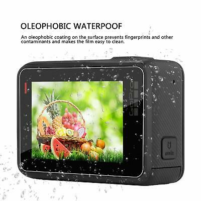 TEMPERED GLASS SCREEN PROTECTOR For GoPro Hero 7 6 5 Only Black Lens Cap Cover 11
