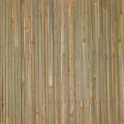 Garden Slat Screen Slatted Bamboo Fence Privacy Shield Wind/Sun Protraction New 4