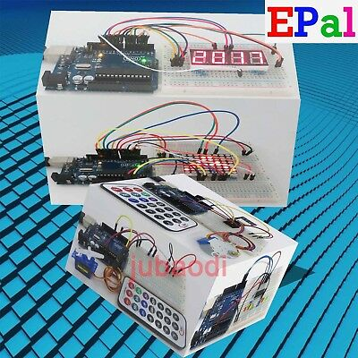 EPAL Professional UNO R3 Starter Kit for Arduino LCD Compass Gyro Processing AU 4