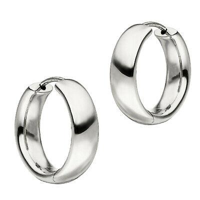 Creolen Ohrringe 925 Silber 1,5 mm Ø 20 32 40 50 mm Groß Echt Schmuck Neu 1067