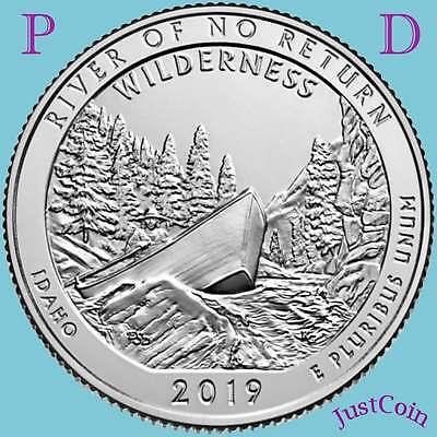 2019 P&d National Parks Quarters Five Releases Uncirculated Subscription Presale 5