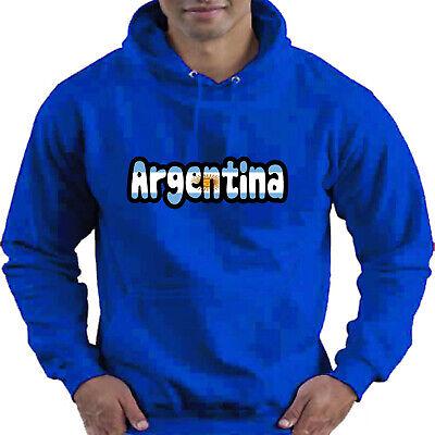 Argentina Flag Love Childrens Childs Kids Boys Girls Hoodie Hooded Top 10