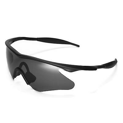 NEW WL POLARIZED Black Sunglasses Lenses For Oakley M Frame Heater ...