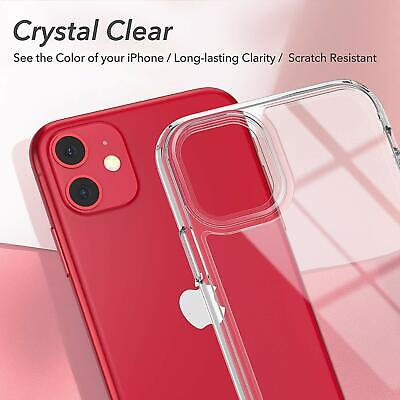 Shockproof Transparent Silicone Case Cover For iPhone 11 XS Max XR 8 7 Plus 6S 6 5