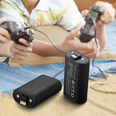Rechargeable Li-ion Battery Pack Play & Charge Kit for Microsoft Xbox One USA 2