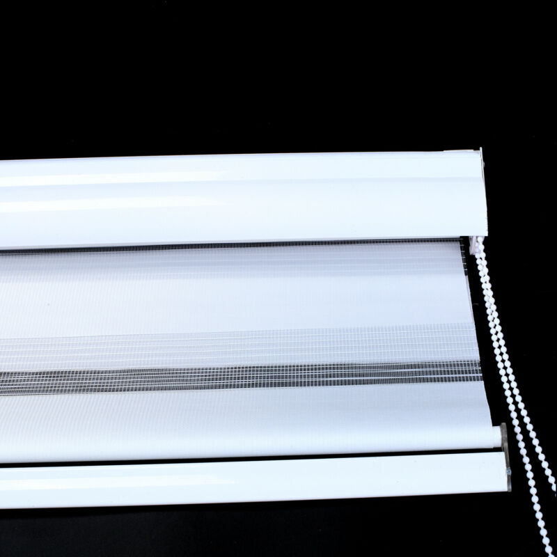 Day And Night Blinds - Made To Measure Cassette Zebra Vision window Roller Blind 6