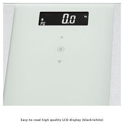 Bascula de baño digital analisis corporal 8 funciones 180Kg memoria 10 usuario 9