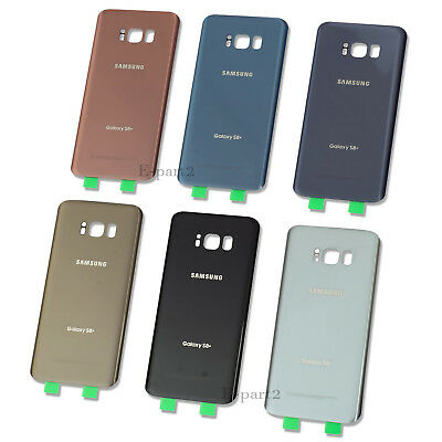 OEM Battery Cover Glass Housing Back Door + Tape For Samsung Galaxy S8 / S8 Plus 7