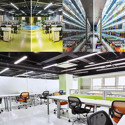 10-100 PACK LED G13 4FT 4 Foot T8 Tube Light Bulbs 18W 6000K CLEAR OR MILKY LENS 6