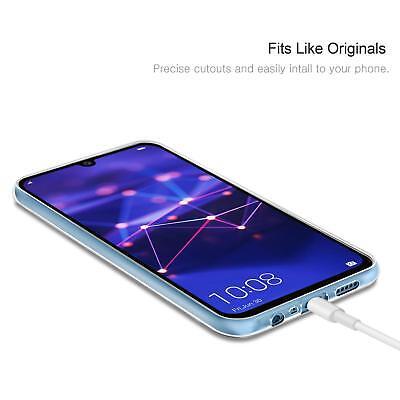 Cover Custodia + Pellicola Vetro Temperato Per Huawei P Smart 2018 2019 3