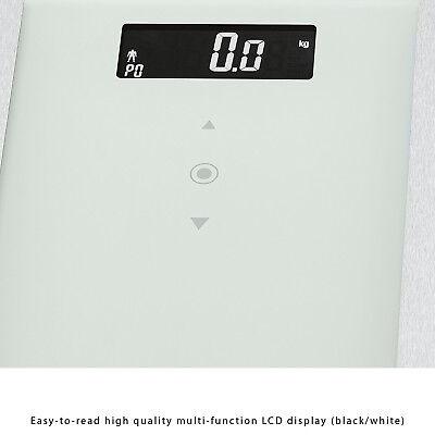 Bascula de baño digital analisis corporal 8 funciones 180Kg memoria 10 usuario 4