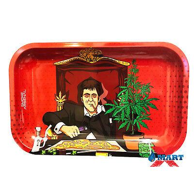 Smoke Arsenal DONT PANIC Tobacco Metal MEDIUM Rolling Tray 11x7
