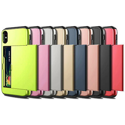 iPhone X XS Max XR iPhone 8 Plus iPhone 7 Plus Wallet Card Holder Case Cover 2