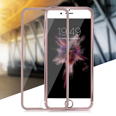 3D FULL COVER iPhone 8 7 6S 6 Plus Schutzglas 9H   Folie GLASS 12