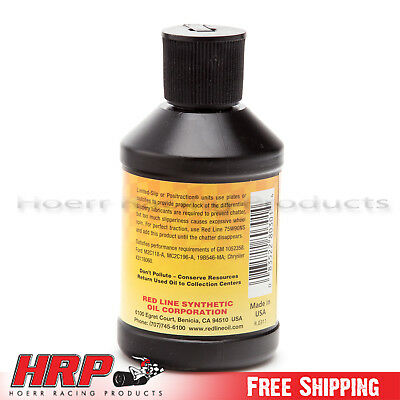 RedLine-Limited Slip Friction Modifier -4 oz - PN: 80301