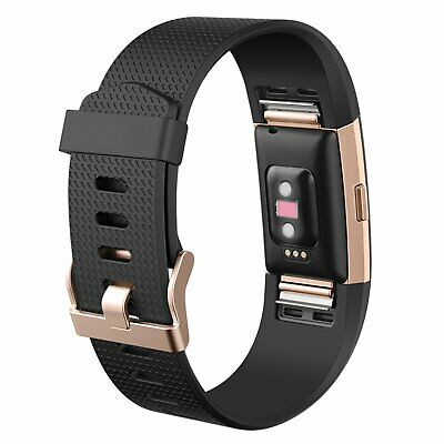 For Fitbit Charge 2 Band Replacement Sports Watch Strap Wristband Small Large 4