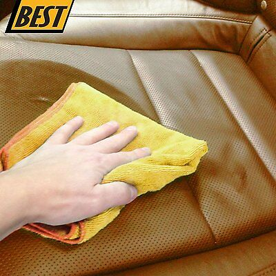 Microfiber Cleaning Cloth Set of 50 Towel Rag Car Polishing Detailing No-Scratch 5