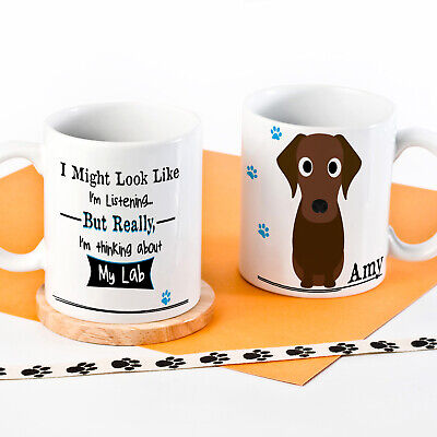 Personalised Dog Mug Funny Pet Cup Birthday Gift All Breeds 9