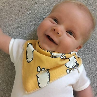 Baby Bibs Bandana Drool Bib 4 Pack by Cheraboo Gift Set Reversible & Soft 10