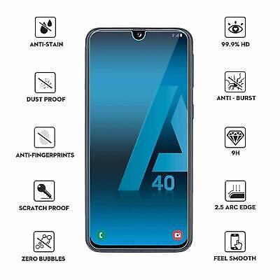 Coque Samsung A70 A50 A40 A20e A10 Housse AntiChoc Case Noir+ Film Verre Trempé 11