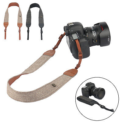 Camera Shoulder Neck Vintage Strap Belt for Sony Nikon Canon Olympus DSLR Pentax 2