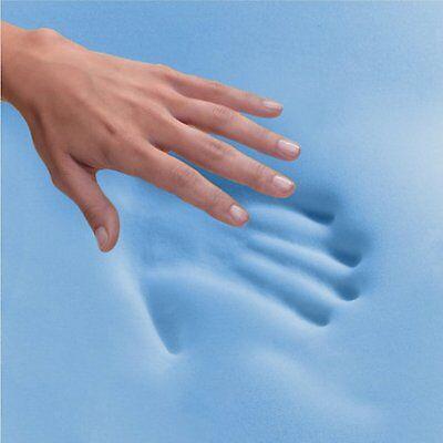 Cool BLUE Memory Foam Mattress Spring 3ft Single 4ft6 Double 5ft King 6ft S King 3