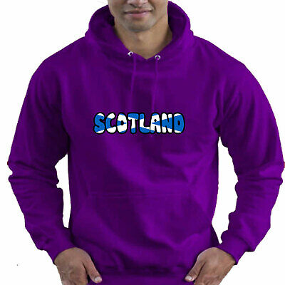 Scotland Scottish Flag Childrens Childs Kids Boys Girls Hoodie Hooded Top 9