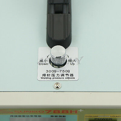 SUNKKO 788H Battery Spot Welder Pulse Welding 18650 Battery Charger 0.1 - 0.2mm 6