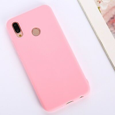 Candy Color Case for Huawei Y5 Y6 Y7 Y9 Honor 8x P20 Cover Smart Soft Silicon 9