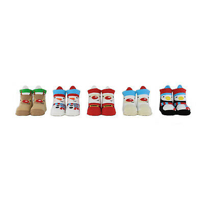 My First Christmas 0-12 M Cucamelon Babysocken in der Geschenkbox 5 Paar