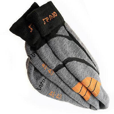 Spaio dicke Socken Merinowolle fürs Trekking Wandern Klettern Wandersocken 2