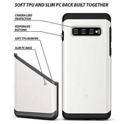 Samsung Galaxy S10 case S10 Plus Case ZUSLAB Hybrid Shield Shockproof Slim Cover 4