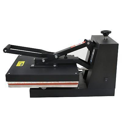 "15""X15"" DIY Digital Clamshell T-shirt Heat Press Machine Sublimation Transfer 7"