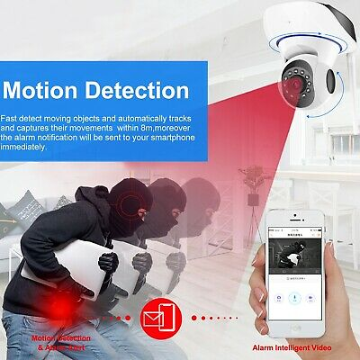 1080P HD Wireless IP Security Camera Indoor CCTV Home Smart Wifi Baby Monitor 8