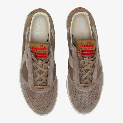 Diadora Heritage B. ELITE W METALLIC Originali 100% Invernali BROWN
