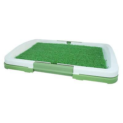 PET Dog Toilet Mat Indoor Restroom Training Grass Potty Pad Loo Tray Large Puppy 4
